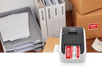Label Printers  Desktop Monochrome  Color Label Printers  Brother with Brother Label Printer Templates