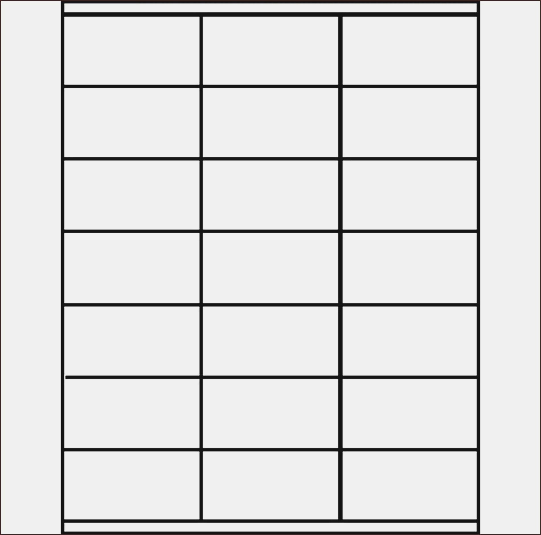 Label Printing Template  Per Sheet With  Labels Per Sheet Pertaining To Label Template 21 Per Sheet