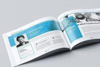 Landscape Company Brochure  Brochure Templates  Company Brochure inside Indesign Templates Free Download Brochure