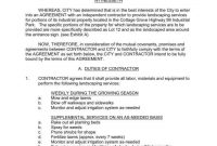 Landscaping Services Contract Templates  Word Pdf Apple Pages inside Supplemental Agreement Template