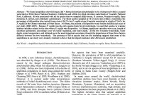 Latex Typesetting  Showcase within Journal Paper Template Word