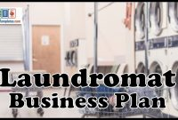 Laundromat Business Plan  Template With Example And Sample within Free Laundromat Business Plan Template