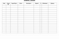 Ledger Sample Sheet – Emelinespace with Blank Ledger Template