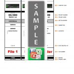 Lever Arch File Label Template …  Junaith  Label… in Free Lever Arch File Spine Label Template