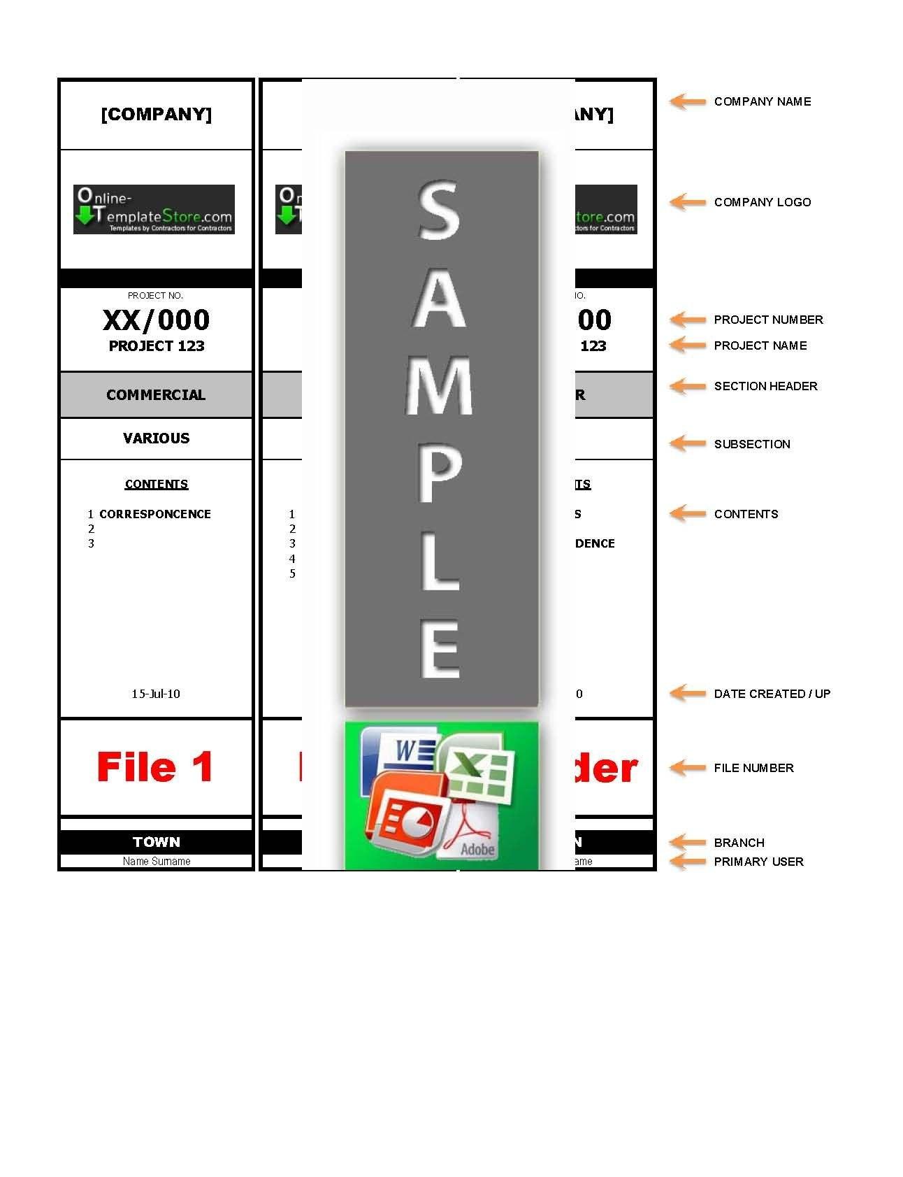 Lever Arch File Label Template …  Junaith  Label… Throughout Labels For Lever Arch Files Templates