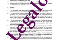 Licence To Occupy Residential Property Template  Legalo Uk in Shelter Lodger Agreement Template