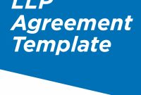 Limited Liability Partnership Agreement Template  Pros  Cons with regard to Free Small Business Partnership Agreement Template