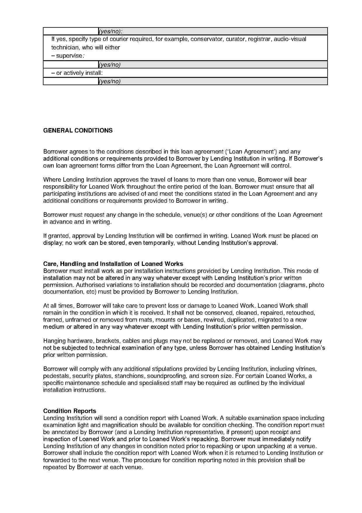 Loan Agreement  Templates Hunter In Profit Participation Loan Agreement Template