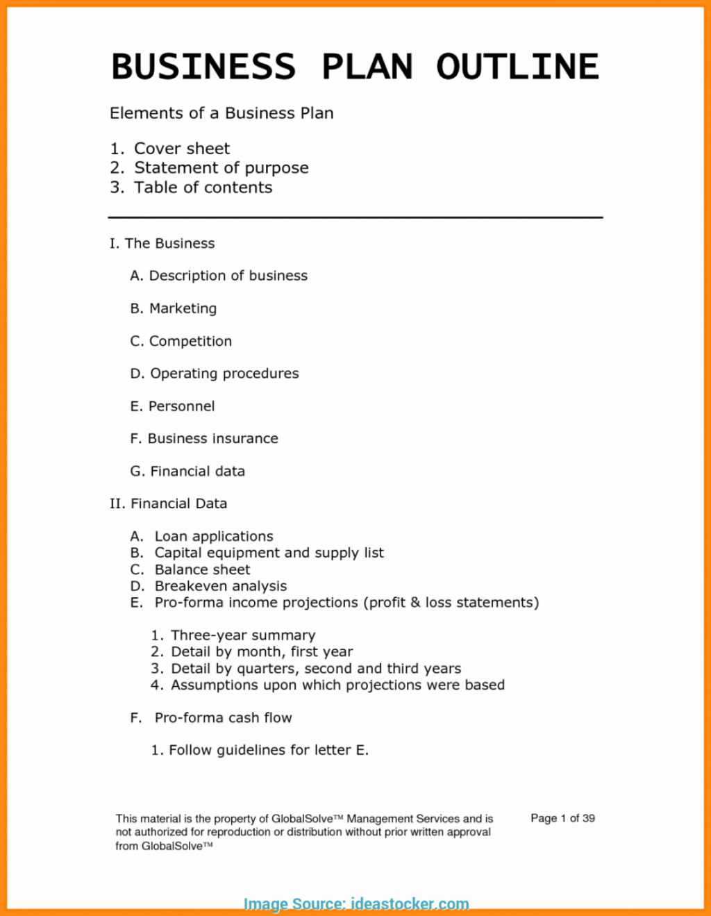 Loan Officer Business Plan Template Sample Newest Basic Word Pdf Within Cake Business Plan Template
