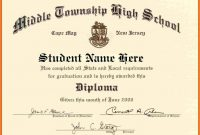 Looking For High School Diploma Template Word For Free Here You Go regarding Graduation Certificate Template Word