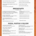 Free Restaurant Menu Templates For Microsoft Word