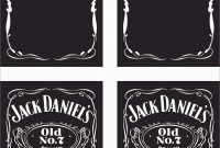 Lovely Jack Daniels Invitation Template Free  Best Of Template with Jack Daniels Label Template