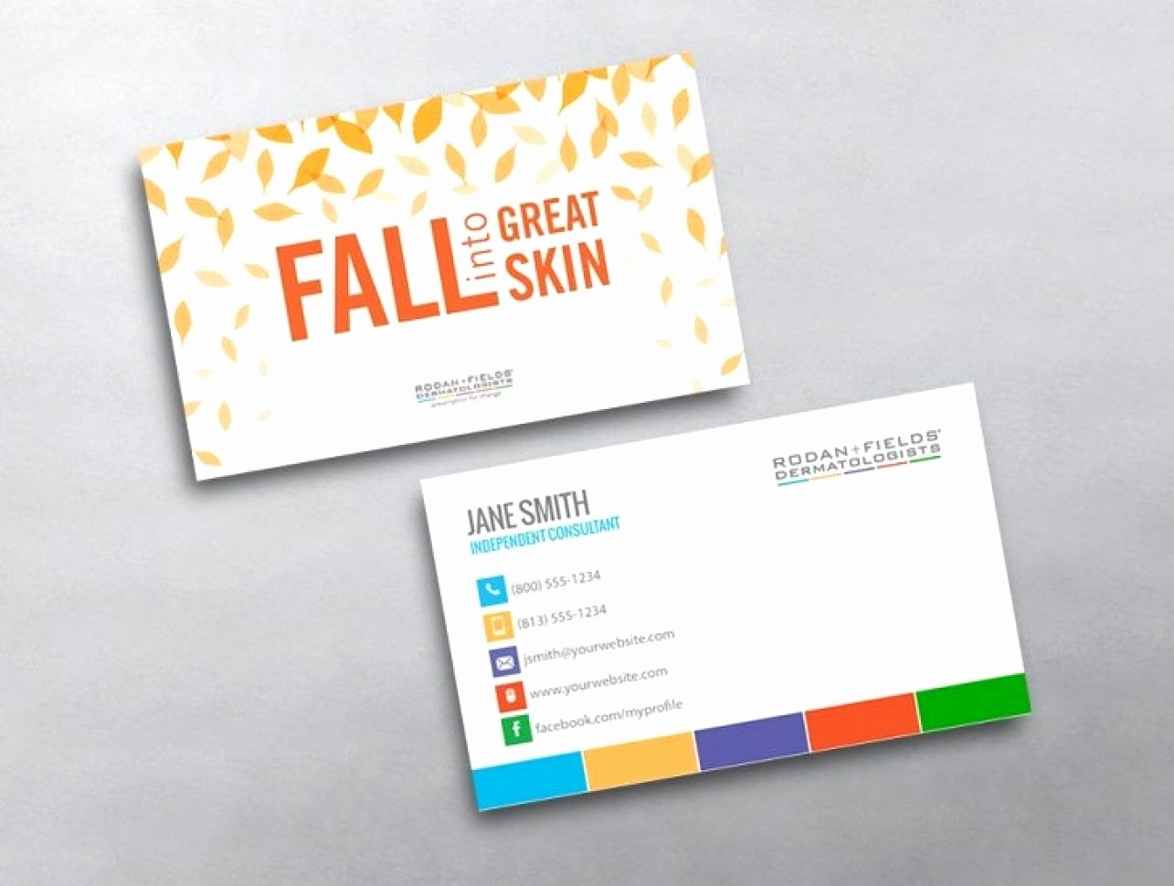 Luxury Rodan And Fields Business Card Template  Hydraexecutives Regarding Rodan And Fields Business Card Template