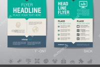 Luxury Simple Flyer Design One Page  Wwwpantrymagic intended for One Page Brochure Template