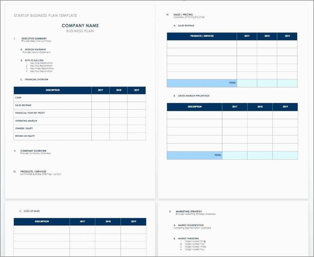 Luxury Simple Startup Business Plan Template Free  Best Of Template Pertaining To Simple Startup Business Plan Template