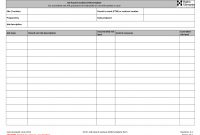 Maintenance Repair Job Card Template  Microsoft Excel Template And with Mechanic Job Card Template