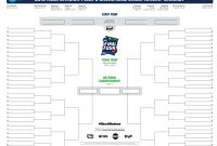 March Madness Bracket Sheet  Icardcmic throughout Blank March Madness Bracket Template