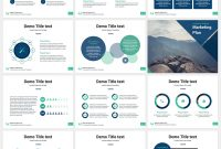 Marketing Plan Free Powerpoint Template  Powerpoint  Creative regarding Business Plan Powerpoint Template Free Download