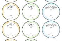 Mason Jar Label Template Ideas Stupendous Free Printable with regard to Mason Jar Label Templates