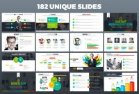 Maxpro  Business Plan Powerpoint Template within Business Plan Presentation Template Ppt