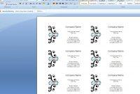 Maxresdefault Microsoft Business Card Template Archaicawful in Business Cards Templates Microsoft Word