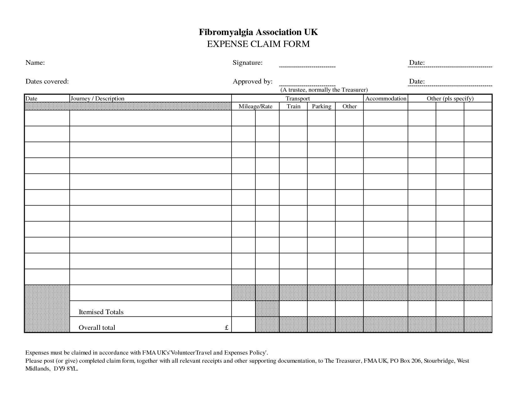 Mcgill Expense Report Per Diem And Per Diem Request Form Template Pertaining To Per Diem Expense Report Template