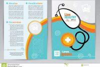 Medical A Brochure Design Template  Medical A Both Side Brochure for Healthcare Brochure Templates Free Download