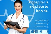 Medical Care Clinic Banner Template throughout Medical Banner Template