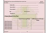 Medical Certificate Templates For Leave  Pdf Doc  Free regarding Medical Report Template Doc