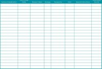 Medication List Template  Template Business with Blank Medication List Templates
