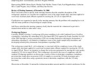 Meeting Summary Examples  Pdf  Examples inside Conference Summary Report Template