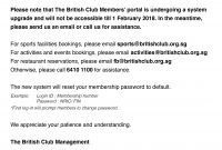 Membership Details  Forms with Membership Card Terms And Conditions Template