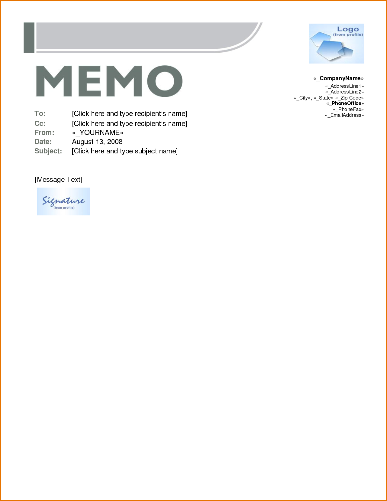 Memo Template Word Zndbrm Templates For Shocking Ideas With Regard To Memo Template Word 2013
