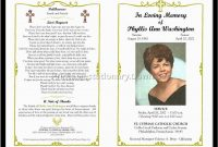 Memorial Cards For Funeral Template Free Great Free Funeral Program throughout Remembrance Cards Template Free