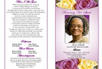 Memorial Service Programs Sample  Choose From A Variety Of Cover throughout Remembrance Cards Template Free