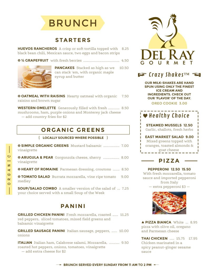 Menu Design Samples From Imenupro  More Than Just Templates Throughout Sample Menu Design Templates