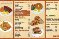 Mexican Menu Template Free Download Unique Mexican Breakfast Menu intended for Mexican Menu Template Free Download