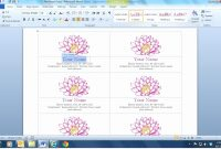Microsoft  Business Card Templates Beautiful Business Cards for Microsoft Templates For Business Cards