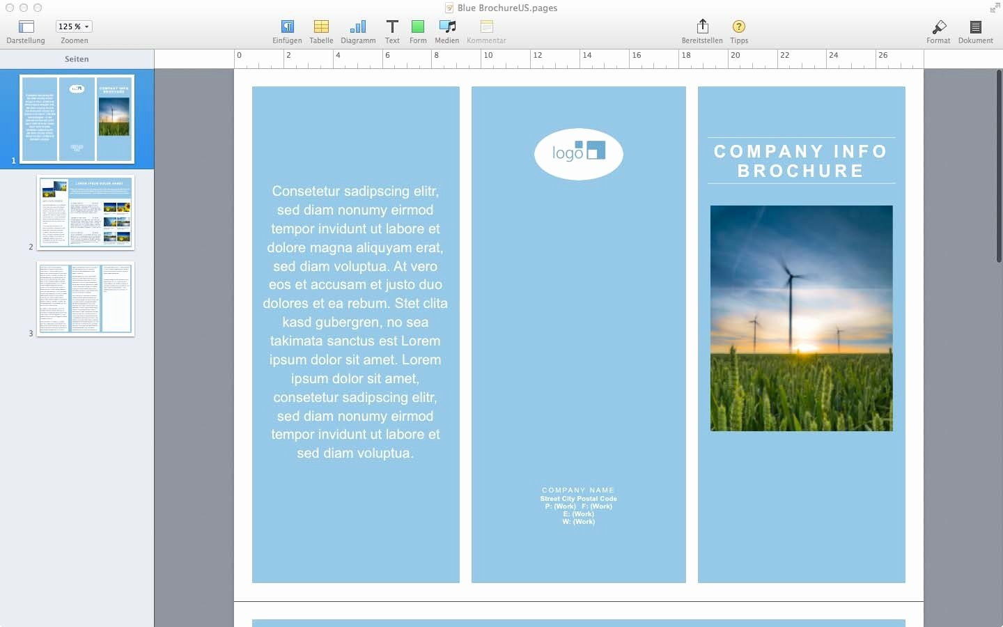 Microsoft Flyer Templates For Mac Fresh Microsoft Word Brochure With Mac Brochure Templates