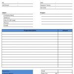 Excel Invoice Template 2003