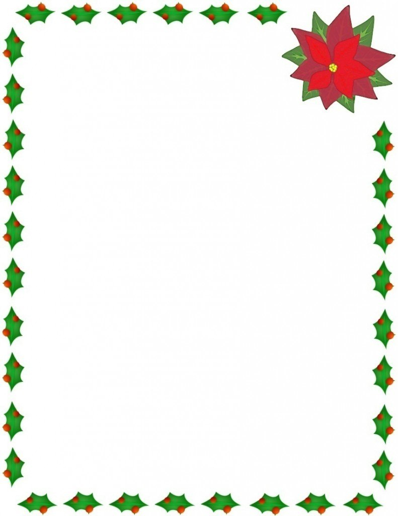 Microsoft Word Christmas Borders  Free Download Best Microsoft Word With Regard To Christmas Border Word Template
