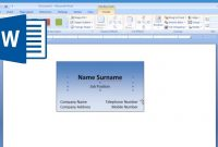 Microsoft Word  How To Make And Print Business Card   Youtube regarding Business Cards Templates Microsoft Word