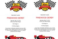 Microsoft Word  Pinewood Derby Flyerdocx  Scouts  Pinewood Derby in Pinewood Derby Certificate Template