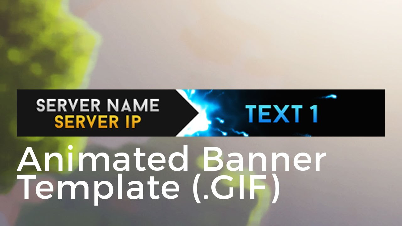 Animated Banner Template