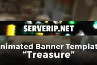 "Minecraft Server Banner Template Gif  ""treasure"" for Minecraft Server Banner Template"