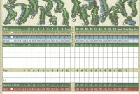 Mini Golf Scorecard Template Printable Golf Scorecards Print Golf for Golf Score Cards Template