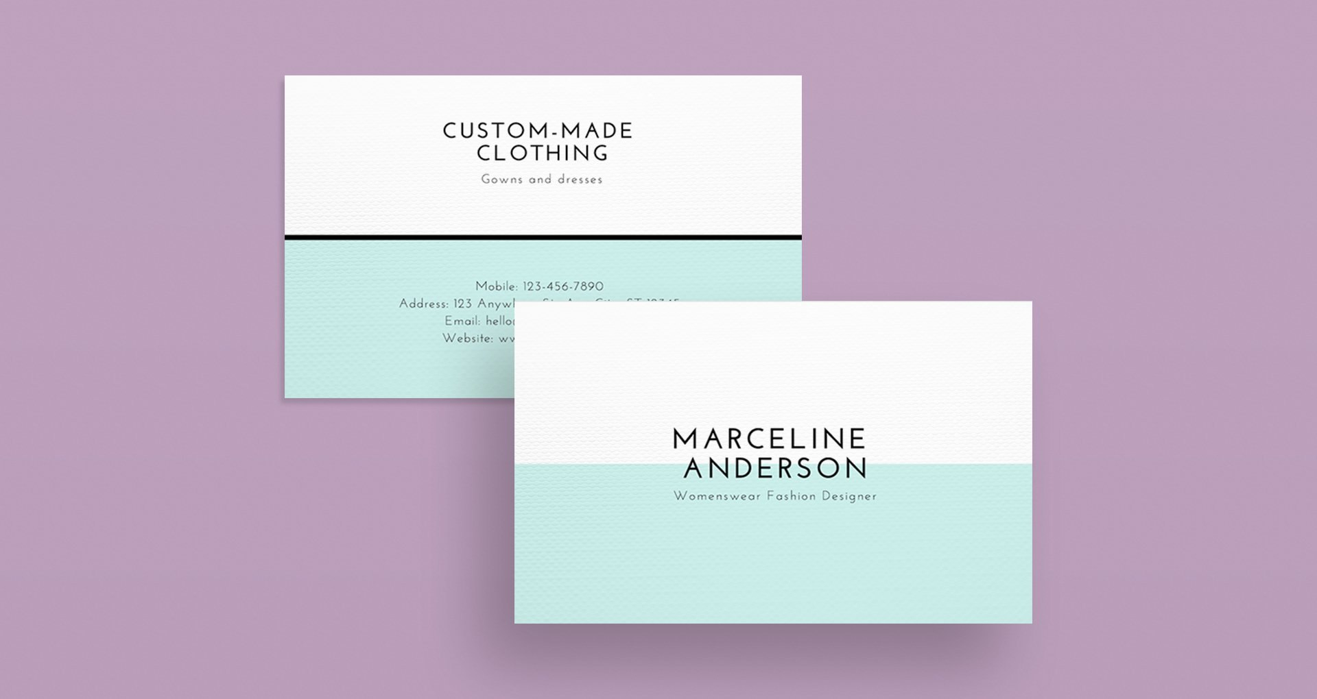Minimalist Design  Beautiful Examples And Practical Tips – Learn For Chance Card Template