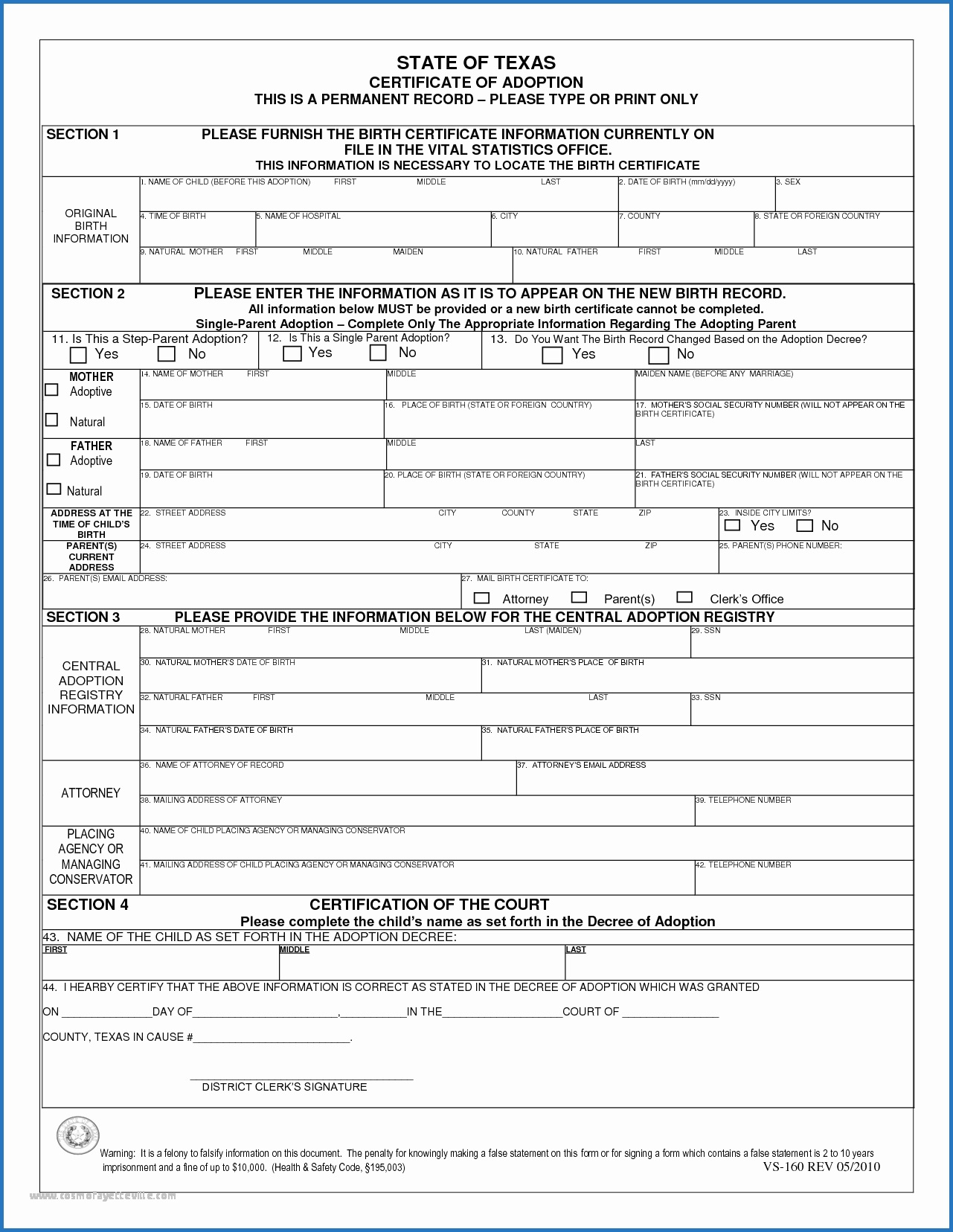 Mississippi Birth Certificate Application Pdf Unequalled Birth In Birth Certificate Templates For Word