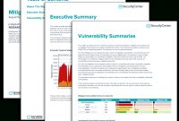 Mitigation Summary Report  Sc Report Template  Tenable® pertaining to Risk Mitigation Report Template