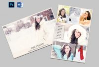 Modeling Comp Card Model Agency Zed Card Modeling Card  Etsy for Zed Card Template